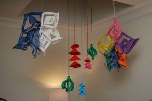 paper xmas ornaments