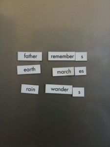 Magnetic Poetry 1