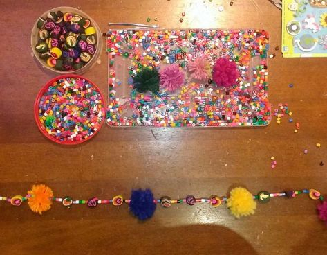 mini clay beads