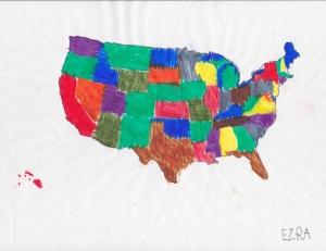 US MAP - E