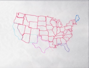 US MAP - S