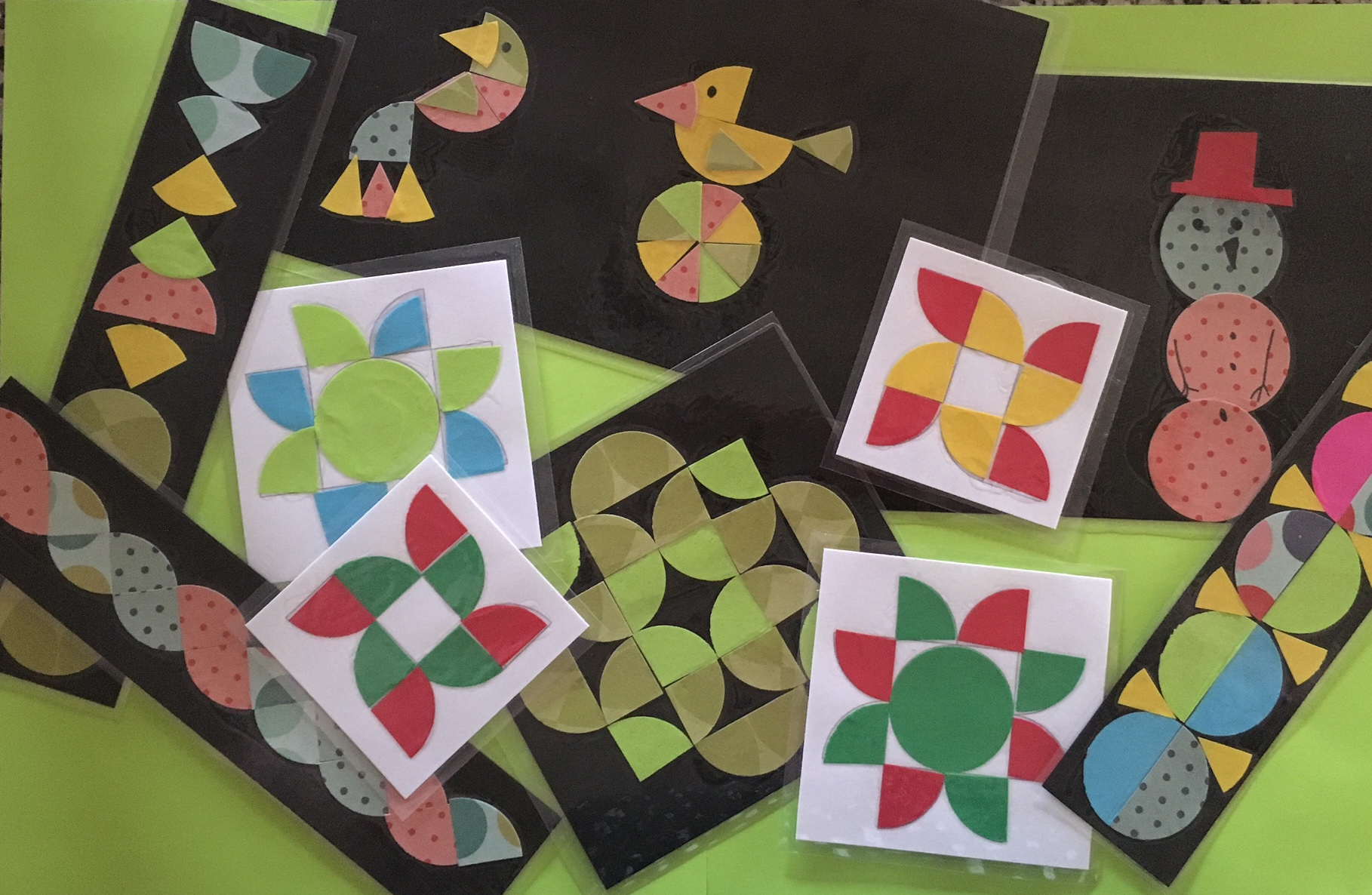 Math Art Week 2 Fractions Eclectic Ed